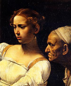 Italiano: Giuditta e Oloferne (particolare 2) ...