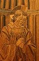 Giuliano da maiano e alesso baldovinetti, tarsie della sagrestia delle messe, 1436-1468, 02 ss. eugenio, zanobi e crescenzio 3.jpg