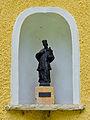 Gleichenberg-Dorf - Nischenfigur hl Johannes Nepomuk in Schloss Gleichenberg.jpg