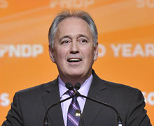 Glen Clark 2011 NDP convention.jpg