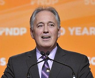 Glen Clark - Image: Glen Clark 2011 NDP convention