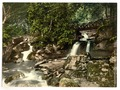 Glen Lyn, falls and upper bridge, Lynton and Lynmouth, England-LCCN2002697007.tif