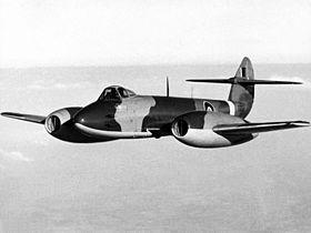 Un Meteor F.Mk.4 de la RAF