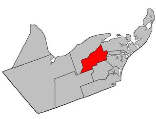 Paquetville Parish, New Brunswick Parish in New Brunswick, Canada