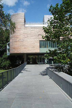 Lewis Glucksman Gallery - Lewis Glucksman Gallery - view from UCC Lower Grounds