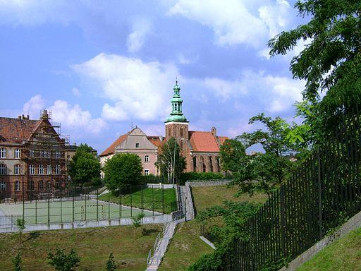 Gniezno. Zespol klasztorny bozogrobcow