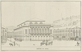 Opéra Royal de Wallonie - Théâtre de Liège in 1827