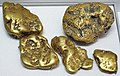 Gold fluvial pebbles (placer gold) (Washington State, USA) 5 (16848892199).jpg
