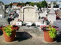 Gonesse (95), cimetière, rue du Thillay, monument aux fusillés de Gonesse du Mont-Valérien.jpg