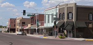 Goodland, Kansas - Downtown Goodland