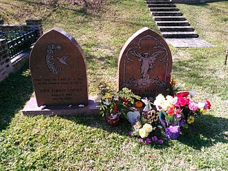 Murder of John Goosey and Stacy Barnett - Graves of the victims at Glenwood Cemetery