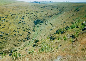 Lalova - Image: Gorge near Ţipova 02