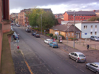 Govanhill district in Glasgow City, Scotland, UK