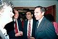 Governor Bob Martinez laughs with two legislators - Tallahassee, Florida.jpg