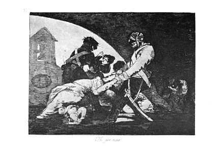 """...nor do they"" [wish to], plate 11 of Francisco Goya's The Disasters of War Goya-Guerra (11).jpg"