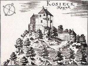 Kozjak Castle - Kozjak Castle 1689
