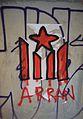 Graffiti d'estelada, Arran, barri del Carme de València.JPG
