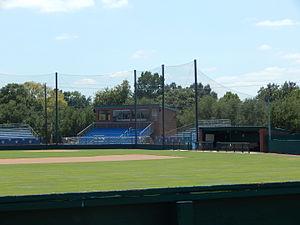Husky Field - Image: Grandstands, Husky Field Baseball
