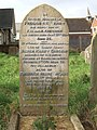 Gravestone outside All Saints church, Whipton - geograph.org.uk - 1160444.jpg
