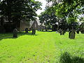 Graveyard at Christ Church, Ellesmere Port.JPG
