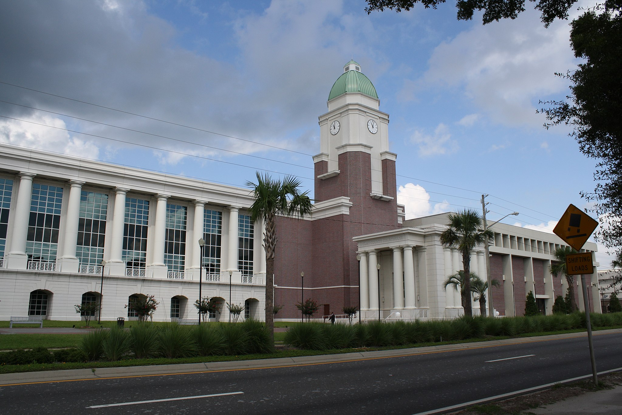 Green Cove Springs, FL, Courthouse, Clay County, 08-09-2010 (3)