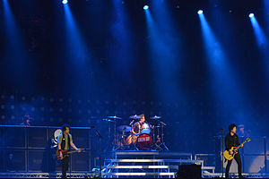 Bråvalla Festival -  Billie Joe Armstrong and Green Day at the Bråvalla festival in 2013