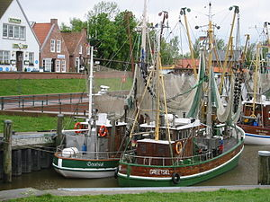 Greetsiel - Image: Greetsiel harbour