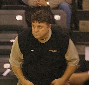 Greg Kampe - Kampe during a 2009 game