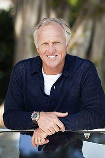Greg Norman Australian golfer