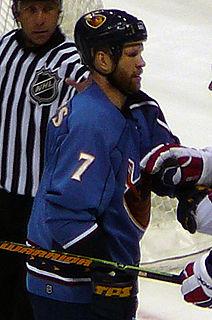 Greg de Vries Canadian ice hockey player