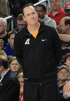 Gregg Marshall - Marshall before Wichita State's Final Four game in 2013.