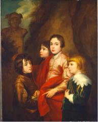 Group of Four Boys