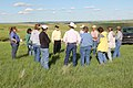 Group of participants at the Mellette County Pasturewalk. (9071647034).jpg