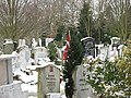 Grove park Cemetery, Islamic burials - geograph.org.uk - 1655192.jpg