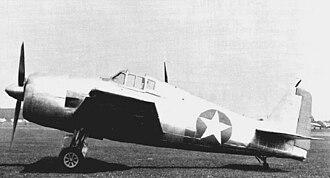 Grumman F6F Hellcat - The unpainted XF6F-1 prior to its first flight