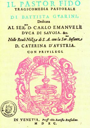 Il pastor fido - Guarinis's Il pastor fido cover page