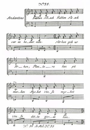 "Gubben Noak - Facsimile of Carl Michael Bellman's ""Fredmans sång no. 35"", 1791"