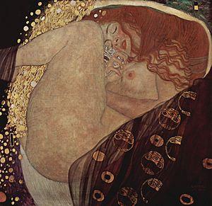 Danaë (Klimt painting) - Image: Gustav Klimt 010
