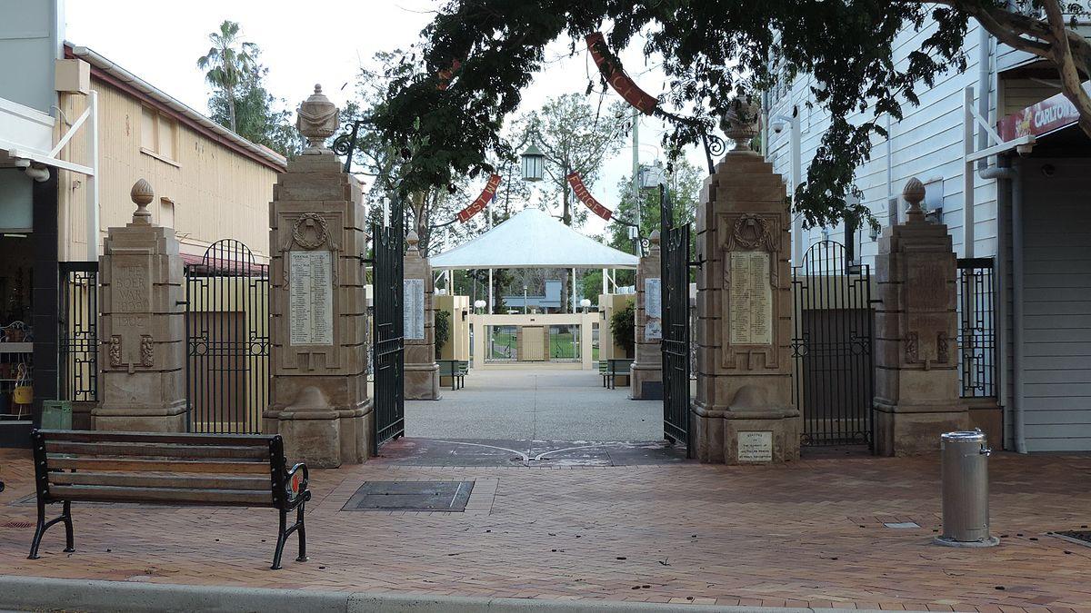 Gympie And Widgee War Memorial Gates Wikipedia