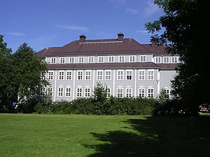 Nesna University College - View of the old building