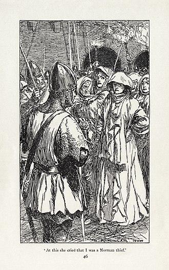H. R. Millar - Image: H. R. Millar Rudyard Kipling Puck of Pook's Hill 3