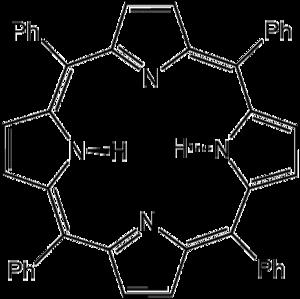 Tetraphenylporphyrin - Image: H2TPP