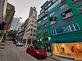 HK 上環 Sheung Wan 荷李活道 Hollywood Road 荷李活大樓 Hollywood Building green October 2019 SS2 06.jpg