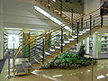 HK 香港中央圖書館 Central Library 10th floor interior steps stairs.JPG