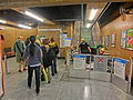 HK MTR 港鐵 上環站 Sheung Wan Station escalators repair OTIS Nov-2013 visitors.JPG