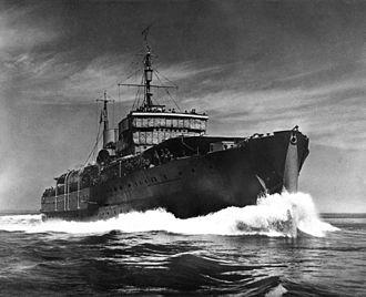 HMCS Prince David (F89) - Image: HMCS Prince David 1942