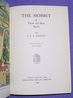 Early American Editions Of The Hobbit Wikipedia
