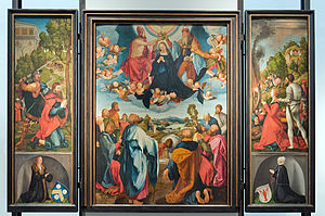 German Renaissance - The Heller altar by Albrecht Dürer