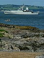 HMS 'Enterprise' off Bangor - geograph.org.uk - 939629.jpg