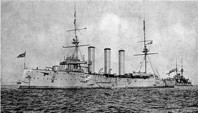 Image illustrative de l'article HMS Monmouth (1901)